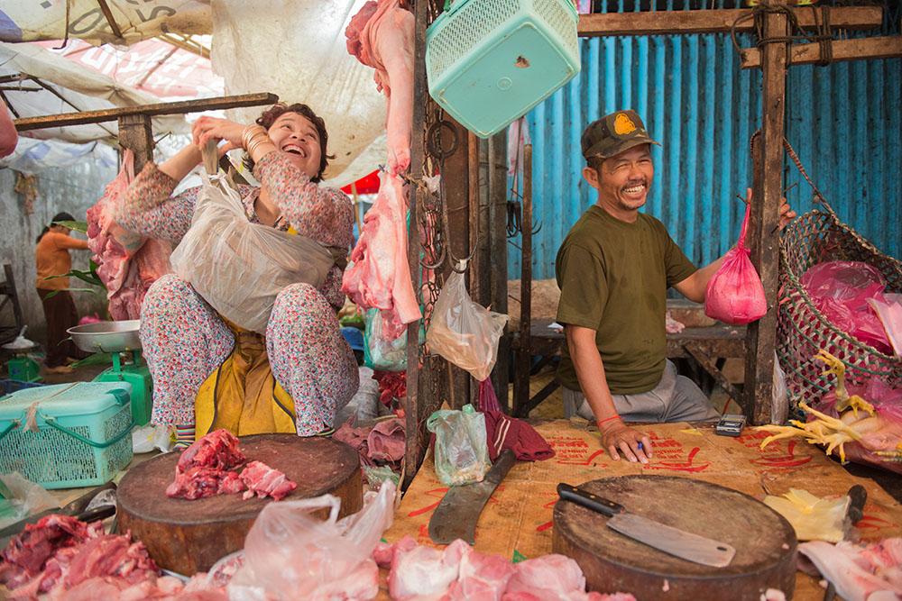 Phsa Lua Market Siem Reap