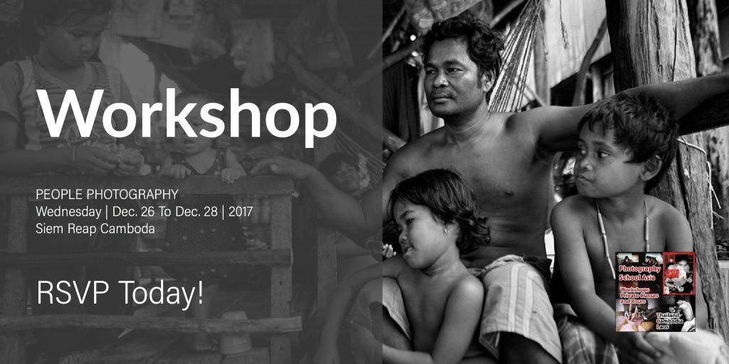 PHOTOGRAPHY WORKSHOP – SIEM REAP, CAMBODIA